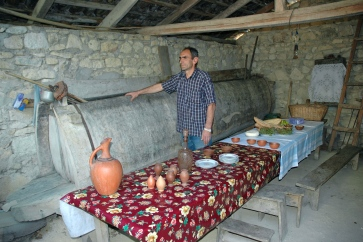 400 yr. old wine cellar in Koreti Region