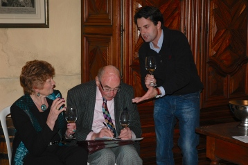 October 2012 - Tasting with winemaker at Chateau Long-Depaquit in Chablis
