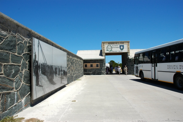 Entrance to Robben Island complex