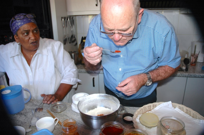 Cape Malay cookery class with Yasmina