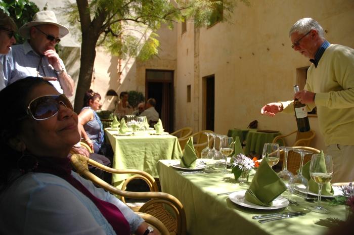 Lunch at Sa Bisbal