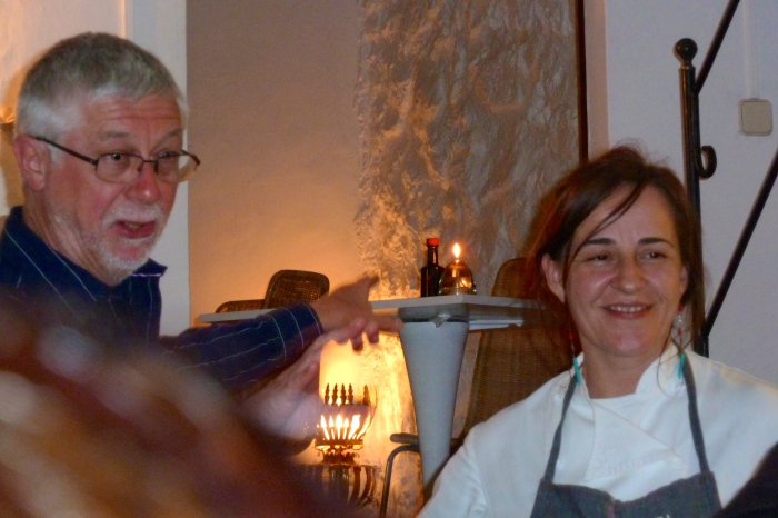 Martin with chef