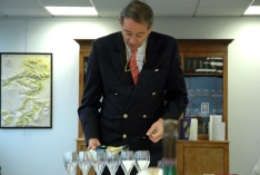 Bruno Paillard conducting the tasting