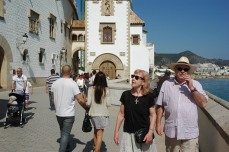 Walk in Sitges