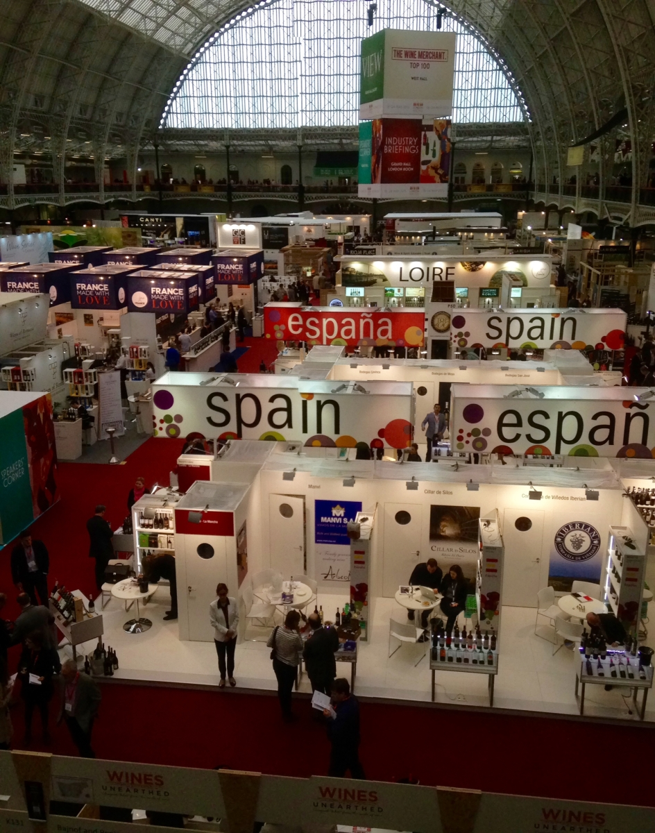 My Day At The London Wine Fair 2015