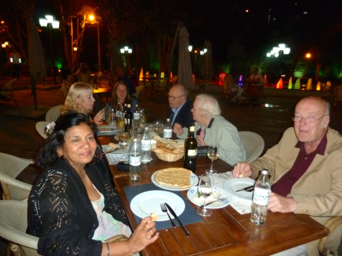 """Dinner at the """"Bread Oven"""" in Tbilisi"""