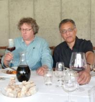 2015 - Tasting lunch with Dirk Niepoort in Portugal
