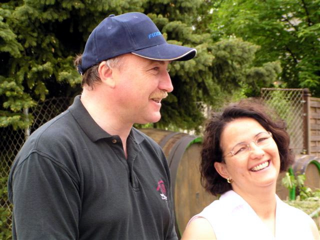 Willie & Maria at Opitz winery