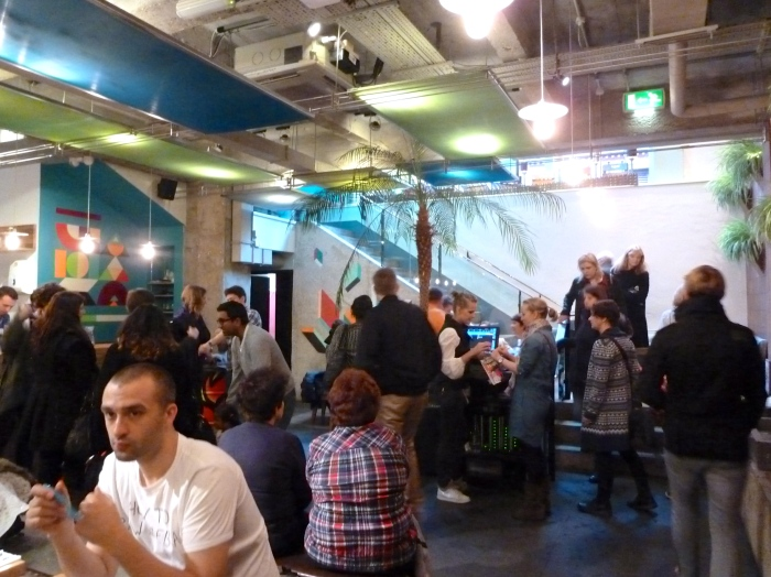 Mexican restaurant Wahaca on Chandon Place was one of the lunch venues