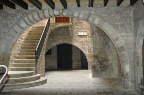 Entrance to Roman Temple