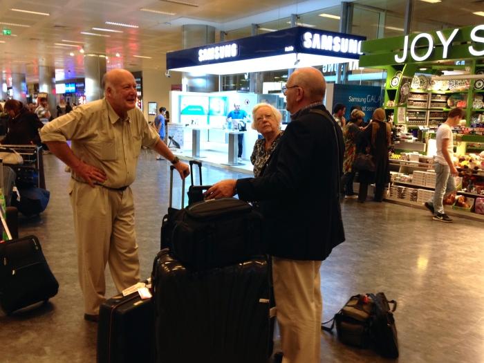 At Istanbul Ataturk Airport