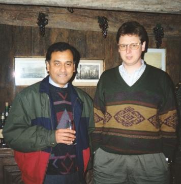 With Dirk Niepoort in 1993