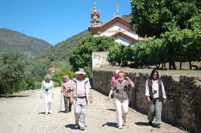 Mafalda led us to the winery