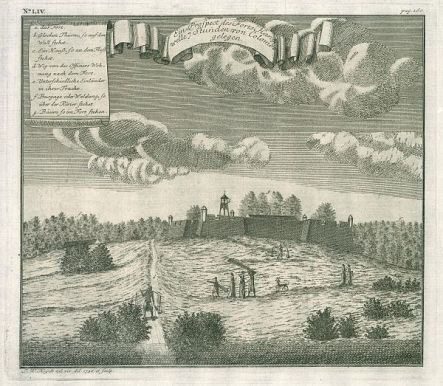 Hanwella Fort in 1736