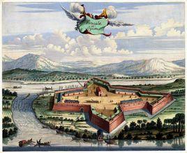 Batti Fort - 17th century sketch