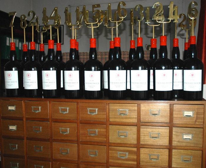 The cellar contains over 15,000 bottles