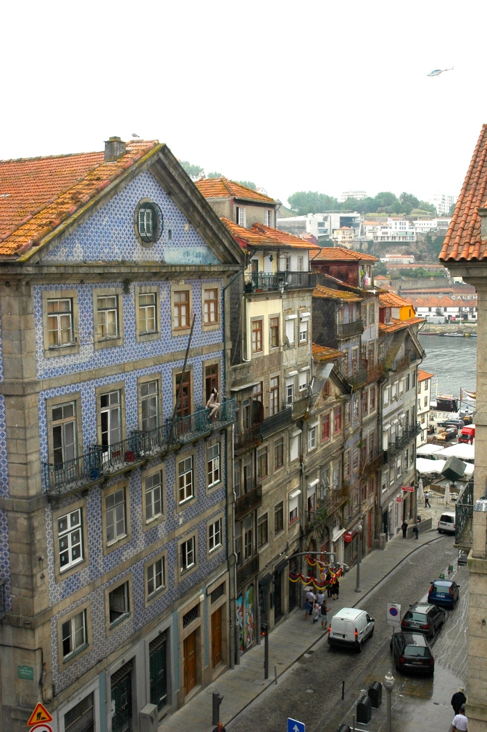 View of old Porto, the Douro and Vila Nova de Gaia beyond