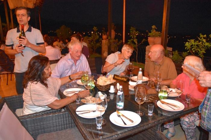 Dinner at Royal Batoni