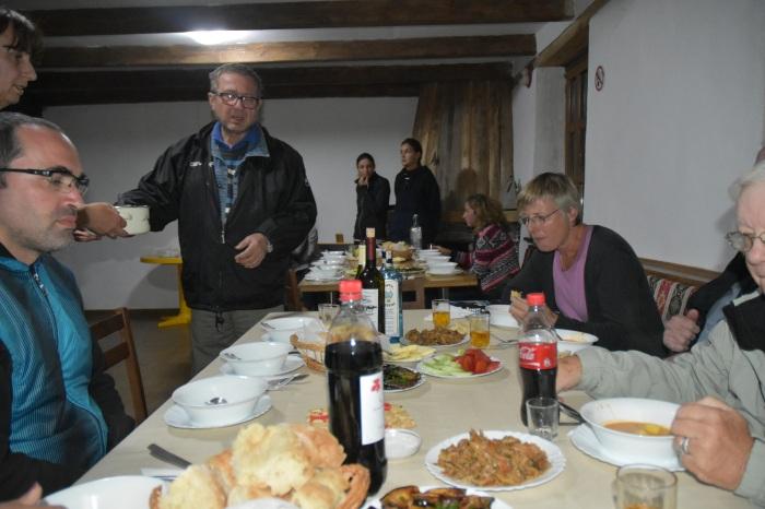 Dinner in Omalo