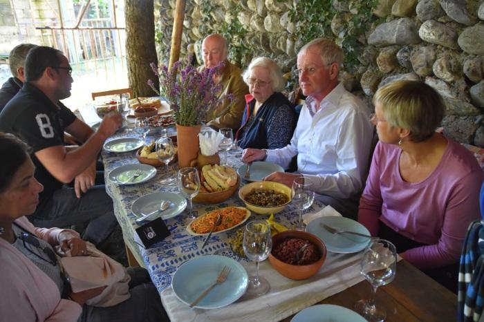 Winemaker lunch in Kakheti