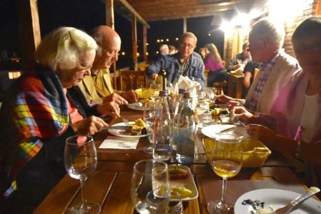 Dinner in Signagi