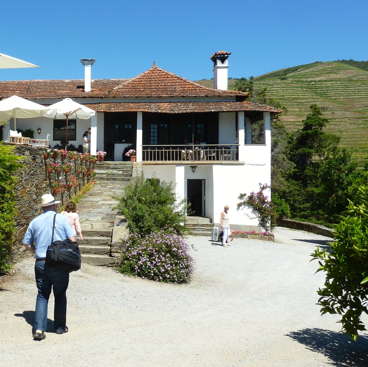 Portugal Revisited - 10. Lunch At Quinta do Crasto