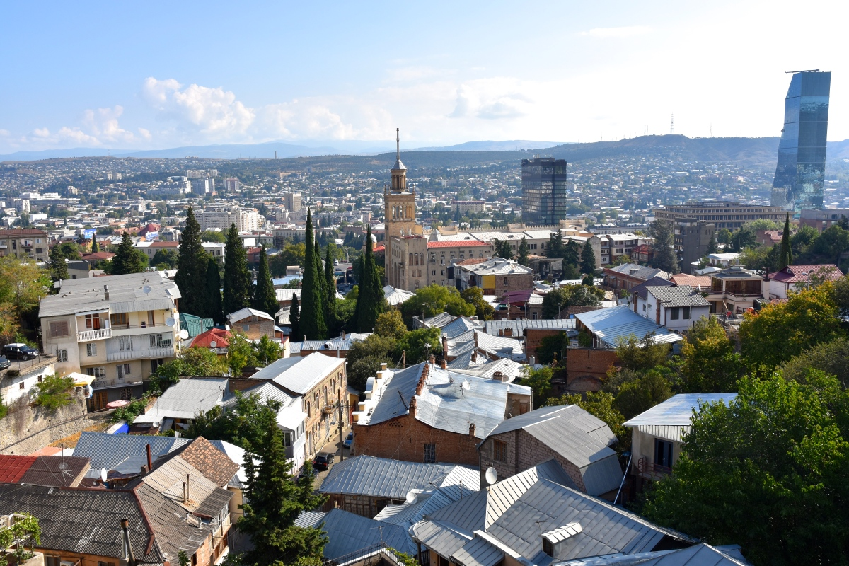 Another Autumn In Georgia - 1. Twenty-Four Hours In Tbilisi