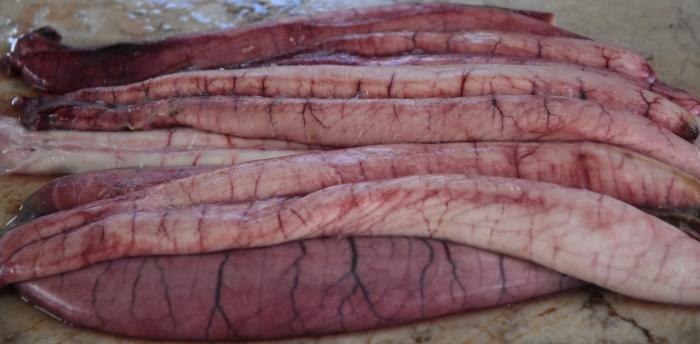 Scabbard fish roe