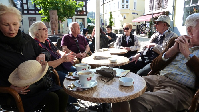 Coffee in Rudesheim