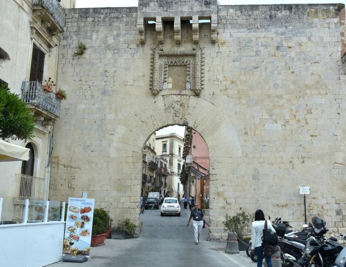 Entrance to Ortigia
