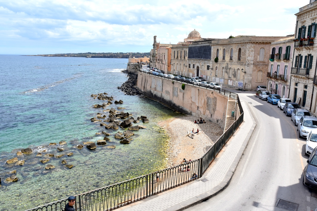 Spring In Sicily 2019 - Siracusa: Beaming Down & Settling In